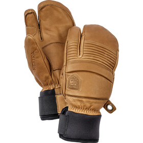 Hestra Leather Fall Line 3 Finger Gloves, cork
